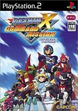 Used PS2 CAPCOM RockMan X Command Mission SONY PLAYSTATION JAPAN IMPORT