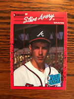1990 Donruss #39 Steve Avery Baseball Card Rookie RC Atlanta Braves Raw