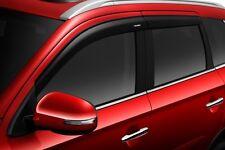 2018 Mitsubishi Outlander Side Window Rain Guards Sport Visors MZ562905EX