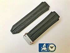 Watch Strap for Hublot Big Bang w Stitching Leather plated on face side 26mm HB8