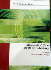 Microsoft Office 2010 Introductory CGS 1100 paperback, USED, Free Shipping