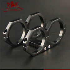 Dual Double or Twin Bosch 044 Fuel Pump Mounting Bracket Clamp cradle In-line BK