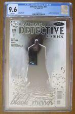 DC - Batman DETECTIVE COMICS # 871 CGC 9.6 - 1st App The Black Mirror Snyder