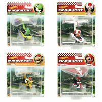 Hot Wheels 2021 Mario Kart Gliders Complete Set of 4 MARIO, BOWSER, TOAD & YOSHI