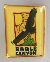 Eagle Canyon USA Souvenir Pin Badge Vintage Original (N5)