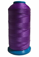 Purple Bonded Nylon sewing Thread #69 T70 Upholstery canvas shoe 1500yds