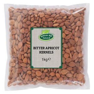 Bitter Apricot Kernels 1kg - Free UK Delivery