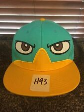 Men's NWOT DISNEY Phineas & Ferb One Size Blue/Yellow Hat H93