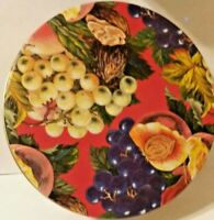 Vintage Fruit Cake Collectors Tin, 1970