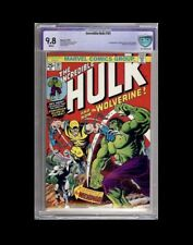 Incredible Hulk 181 CBCS 9.8 not CGC 1st Full Appearance Wolverine 1974 🔥WP🔥