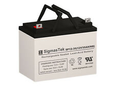 NEW 12V 35AmpH Group U1 Deep Cycle Battery Replacement by SigmasTek