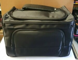 BARBER BAG, HAIRDRESSING BAG, COMB, BRUSH, CLIPPER & COSMETICS HOLDER.