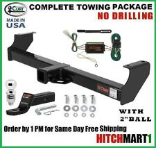 "FITS 2001-2006 SUZUKI XL7, XL-7 CLASS 3 CURT TRAILER HITCH PACKAGE w/ 2"" BALL"
