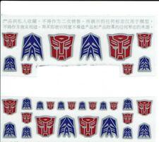 Transformers Generation 1,G1 Autobot/Decepticon Teile Etiketten/Aufkleber