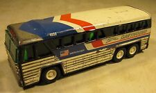Vintage Tin Buddy L Toy Greyhound 4950 Americruiser Bus Japan