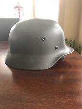 Original German M40 WWII Type Steel Helmet- Finnish M40/55, Size 58cm, US 7 1/4