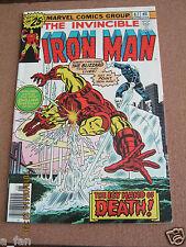 Invincible Iron Man # 87 June 1976 - Marvel Comics - The Blizzard!