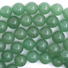 "Green Aventurine Round Beads Gemstone 15.5"" Strand 4mm 6mm 8mm 10mm 12mm"
