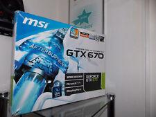 MSI NVIDIA GeFORCE GTX 670 - 2048MB GDDR5 - DVI - GRAFIKKARTE