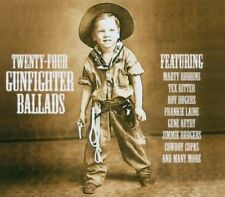"""24 Gunfighter Ballads """"Various Artists"""" NEW & SEALED CD 1st Class Post From UK"""