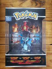 Pokemon Trainer's 1 Choice 4 Figure Mega Charizard Charmander Charmeleon Mega X