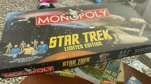 Parker Brothers Monopoly Star Trek Limited Edition
