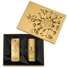 Paco Rabanne 1 Million Gift Set 100ml EDT Spray + 150ml Deodorant - NEW
