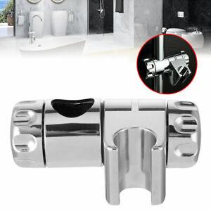 Chrome Replacement Shower Head Holder Adjustable Bracket Slider Rail Kit Clamp