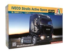Iveco Stralis Active Space Truck LKW 1:24 Bausatz Italeri 3869 NEU & OVP