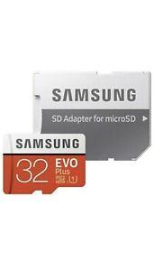 Samsung EVO Plus 32GB Class 10 MicroSDHC Memory Card - Original best Quality🇬🇧