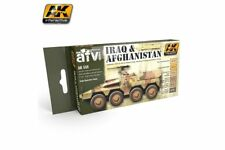 AK Interactive AK558 IRAQ AND AFGHANISTAN 6x17ml