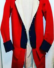 Colonial 18th century revolutionary war regimental coat sz large