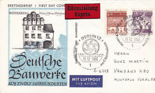 West Germany 1966 1200 Years of Architecture FDC Express Mail VGC