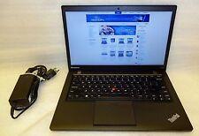 Lenovo Thinkpad T440s Laptop Core i7 2.10GHZ 12GB 480GB SSD Windows 8 Pro Camera