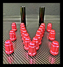 """23 PINK JEEP LUG NUTS   6 SPLINE TUNER   1/2""""-20   CLOSED END  +2 KEYS 5X5 5x4.5"""