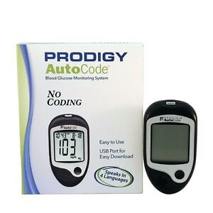 Prodigy Auto Code Talking Blood Glucose Meter (Read The Description)