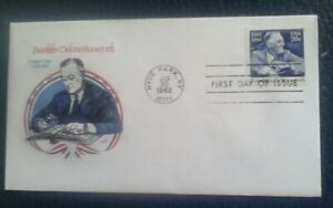 First day of issue, 1982 Honoring Franklin D, Roosevelt, Scott # 1950