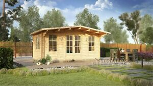 * Log cabin YORK 5x3 m, 44 mm walls/ Free delivery*
