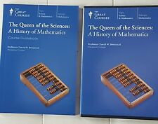 Great Courses -Queen of the Sciences: A History of Mathematics,4 Dvd set, book