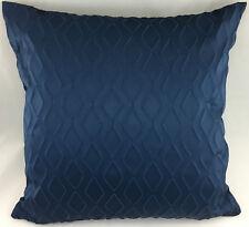 Navy Blue Diamond Design Evans Lichfield Cushion Cover