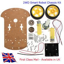 2WD Kit De Chasis inteligente robot-traje Arduino, Raspberry Pi y otros proyectos