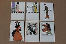 Wiener Werkstatte Mode 12 Postcard Set, Christian Brandstatter, 1983