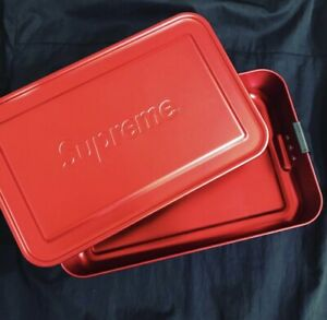 Supreme SIGG Metal Box | Large | Red Lunch Spring Summer 2018 SS18 Accessories