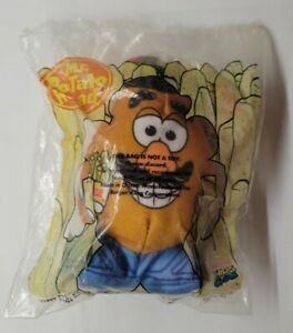 Burger King Kid's Meal Toy Story Mr. Potato Head Stuffed Plush 1998 French Fries