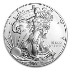 2014 1 oz. American Eagle Silver $ Coin Single BU .999