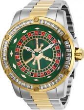 Invicta Men's Watch Specialty Casino Crystal Bezel Two Tone Bracelet 28716