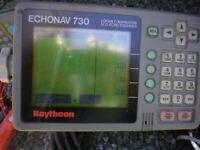 Raytheon Echo Nav 730 with Transducer Preowned