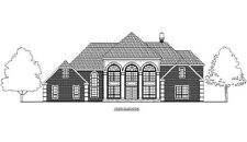 Complete Set of one House Plan - 4,532 Square Feet in PDF Format