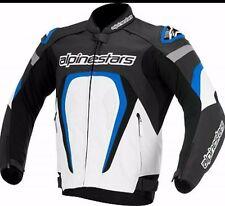 New Alpinestar Motorcycle Racing Biker 100%Cowhide Leather Jacket Custom Made.