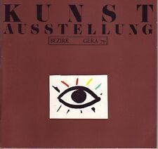 Kunst Ausstellung Bezirk Gera 1979